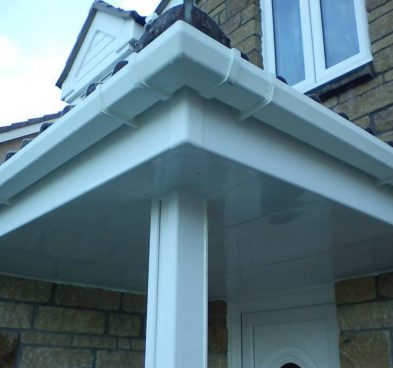 UPVC Door Canopy