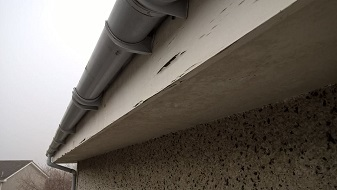 Old Flaking Wooden Fascia