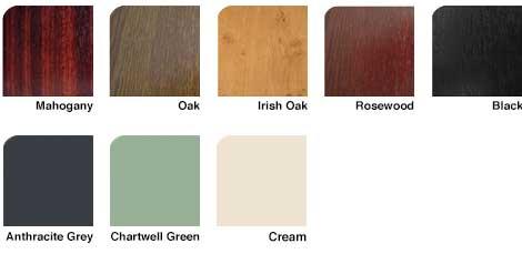 UPVC Roofline Woodgrain Colour choices