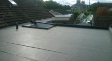 Firestone Epdm Rubber flat roofing Peterculter